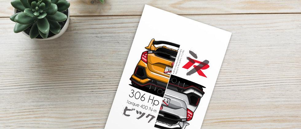 Honda civic Type R (306HP)