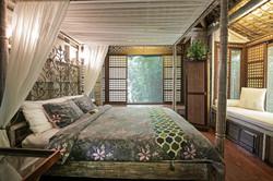 Capiz casita bedroom