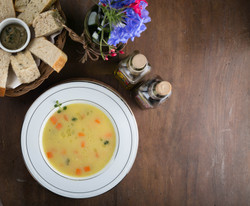 Vegetable Soup in Corn Broth