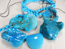 Is it turquoise?  The birthstone for December.