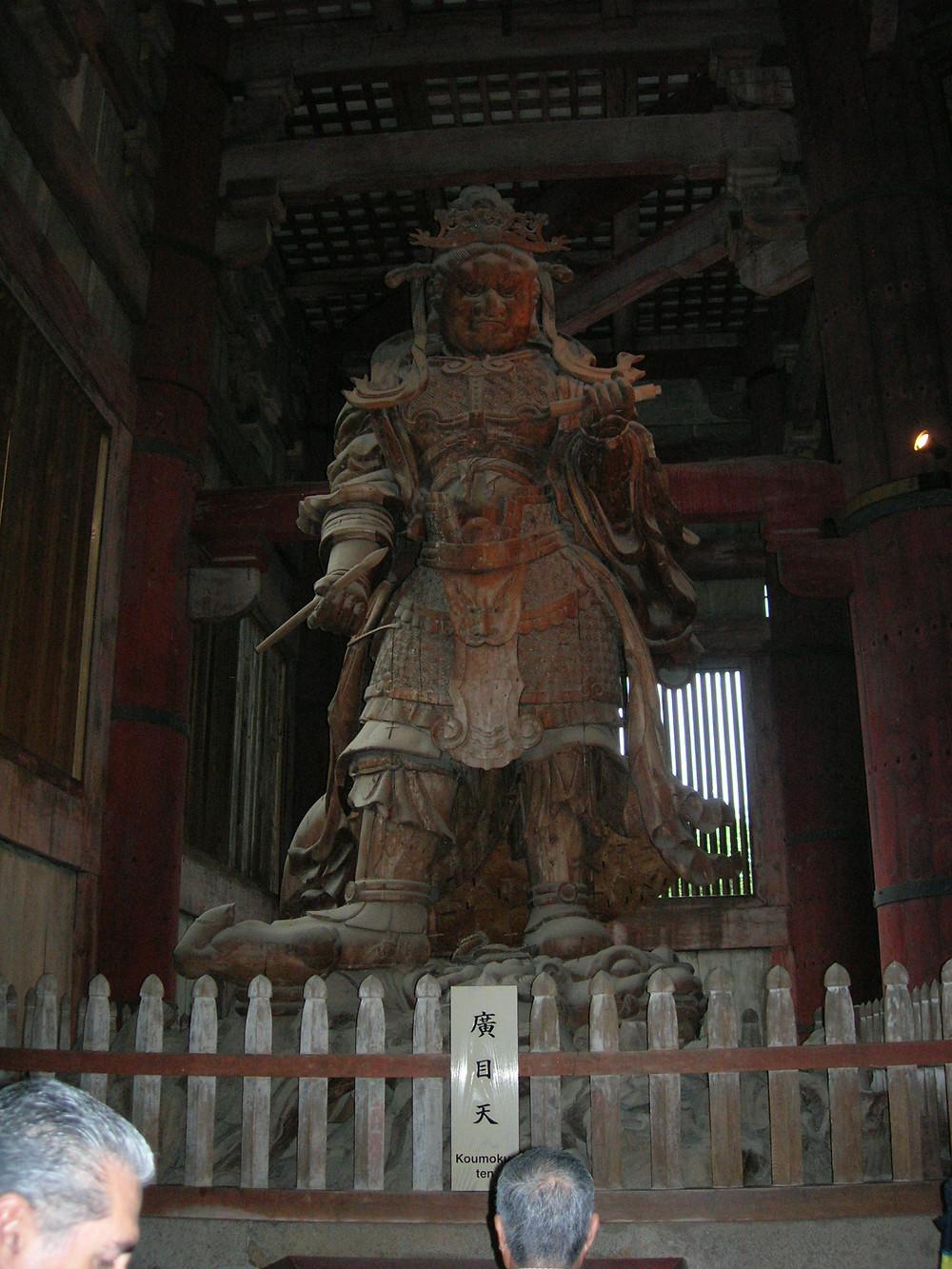 guardian deity, Nara, Japan