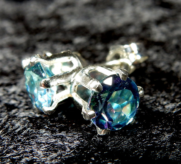 fire polished blue topaz main photo