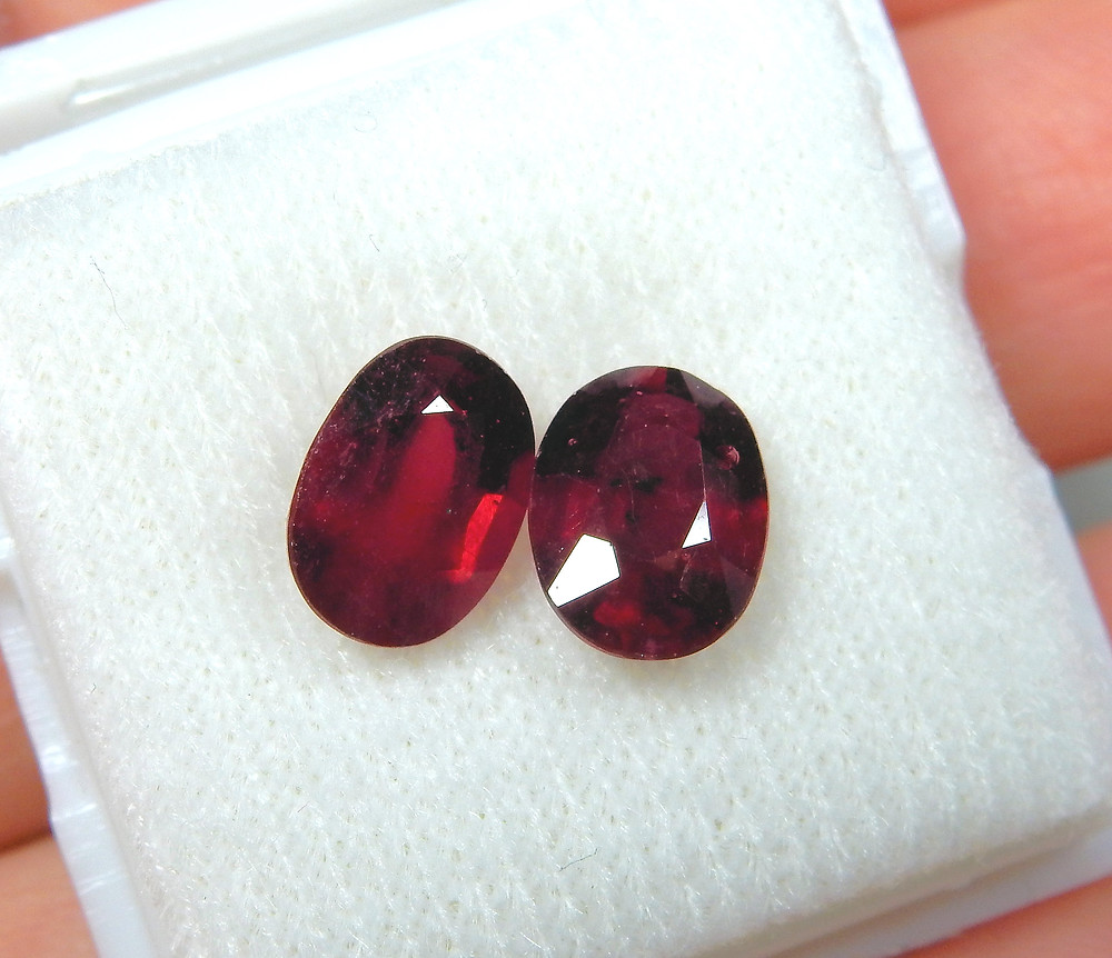"Pretty but ""treated"" rubies."