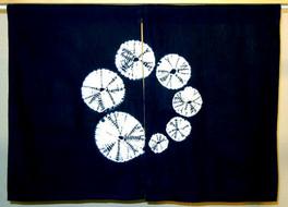 Lessons in stitched and tied shibori part 1: Kumo shibori
