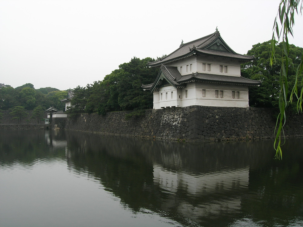 Moat at the Imperial Palace, Tokyo, Japan