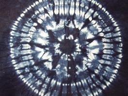 Lessons in stitched and tied shibori part 4: Larch patterns