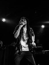 Elbee Thrie, lead singer of Phony PPL, Minneapolis, MN, 2019.