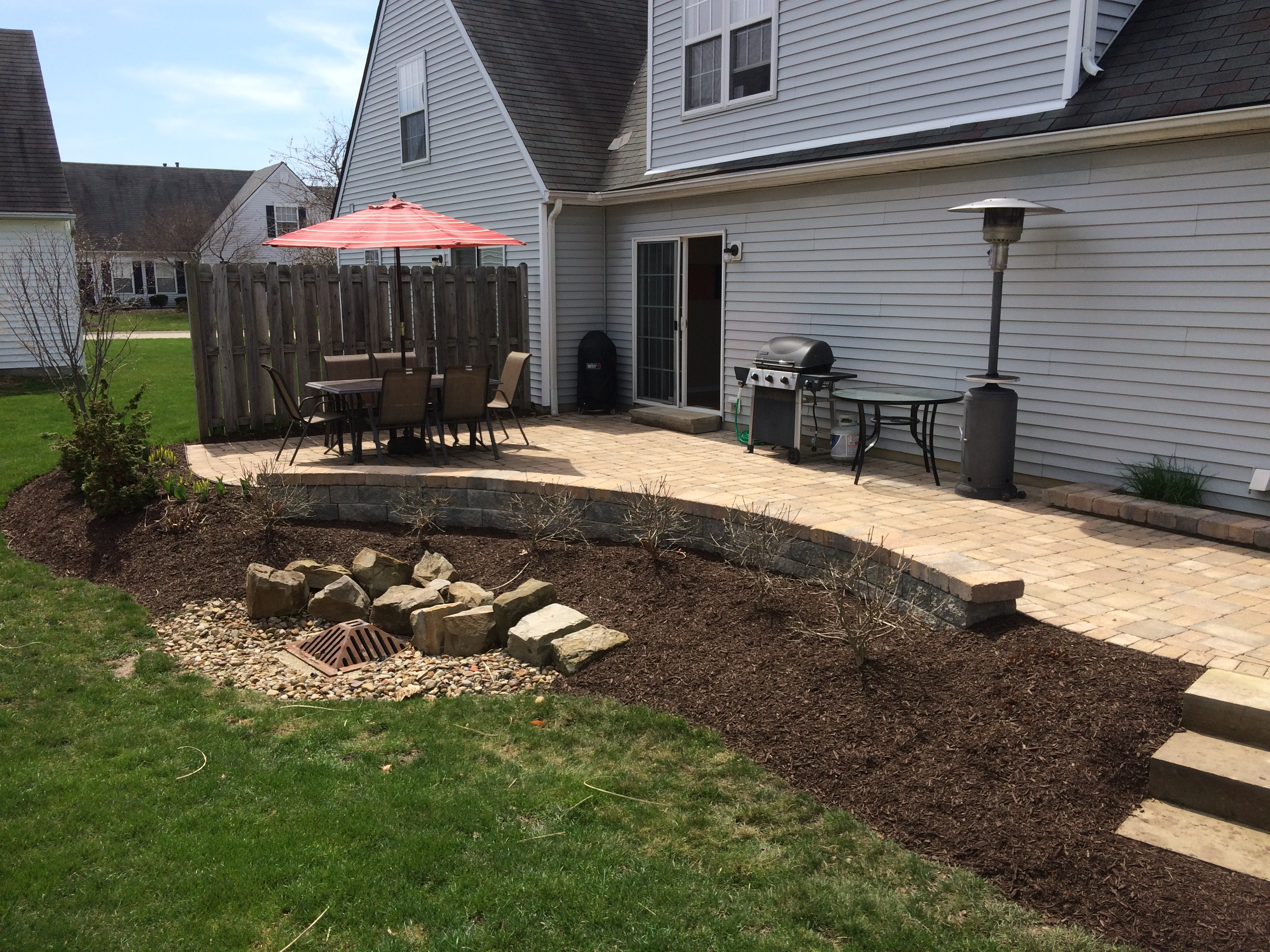Paver Patio 4
