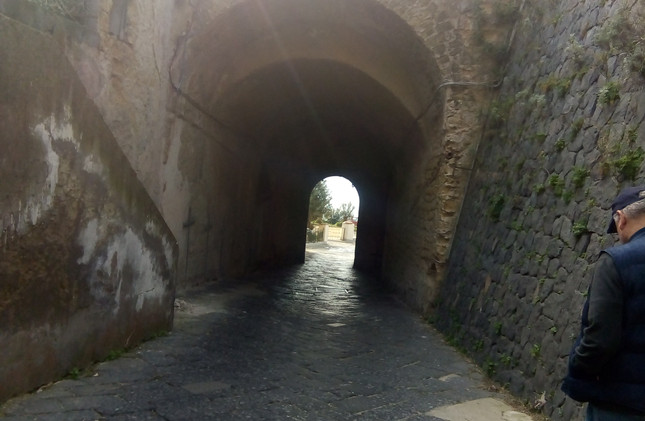 Exit from Fort