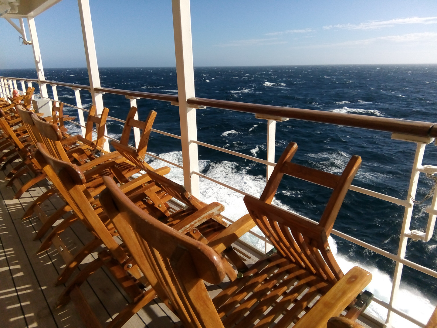 Deck chairs on the Titanic!!