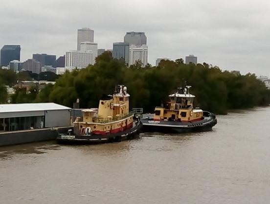 More tug boats