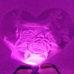 Rose and Heart - Honeymoon suite