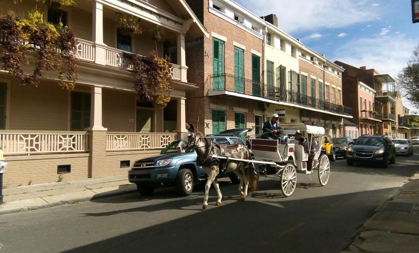 New Orleans Street Scene