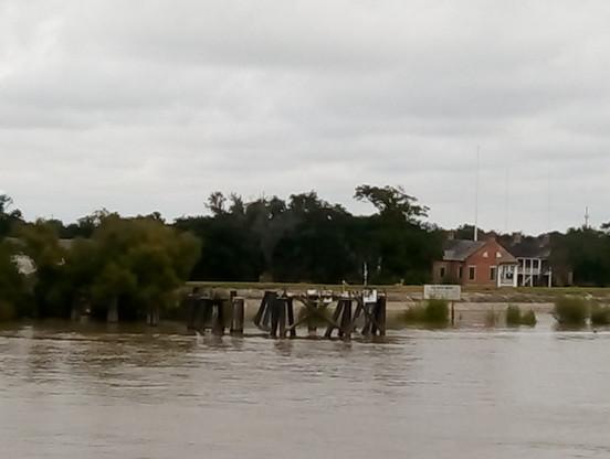 Cyclone Catrina damage