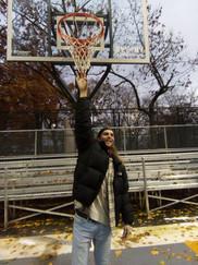A tall Basketballer