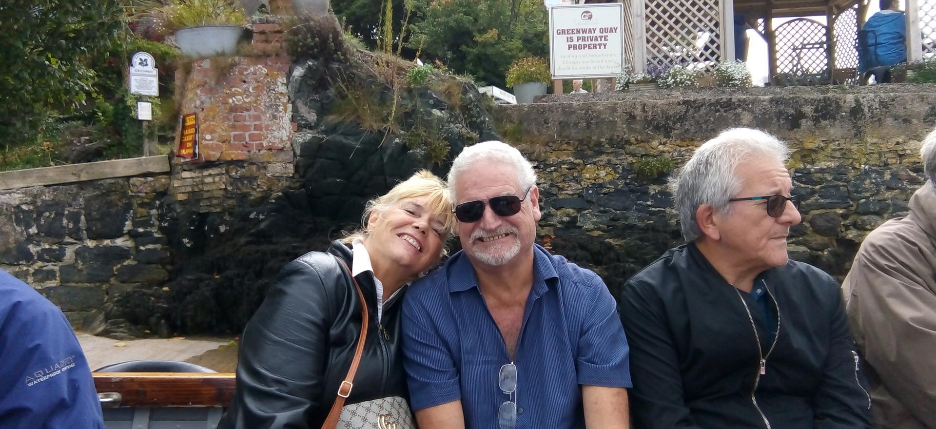 Sharon, Ross and Steve
