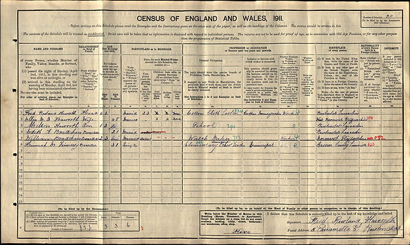 William Bradshaw 1911 Census.jpg