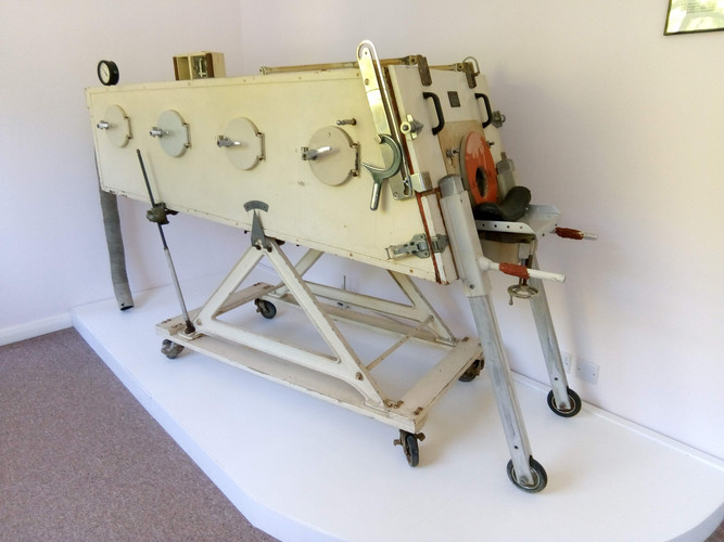 Iron lung made in factory