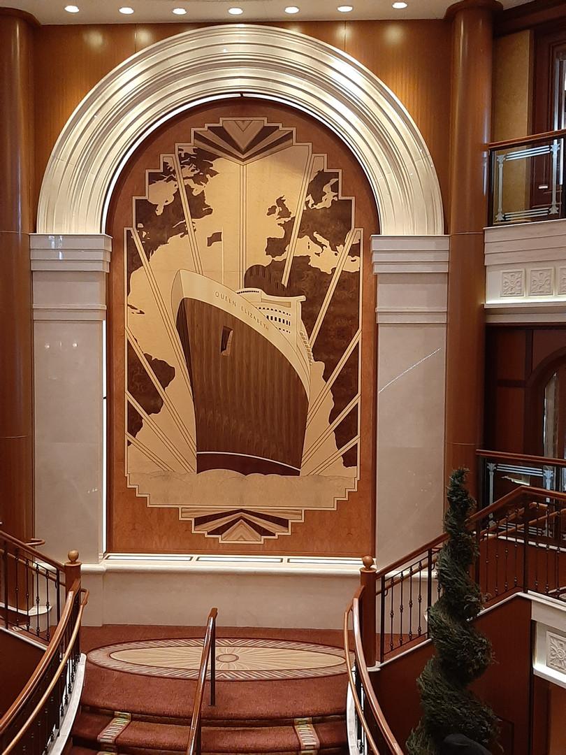Cunard in Dining Room