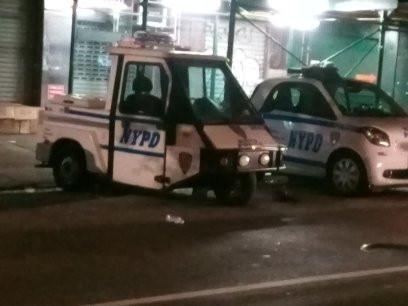 Tiny Police vans