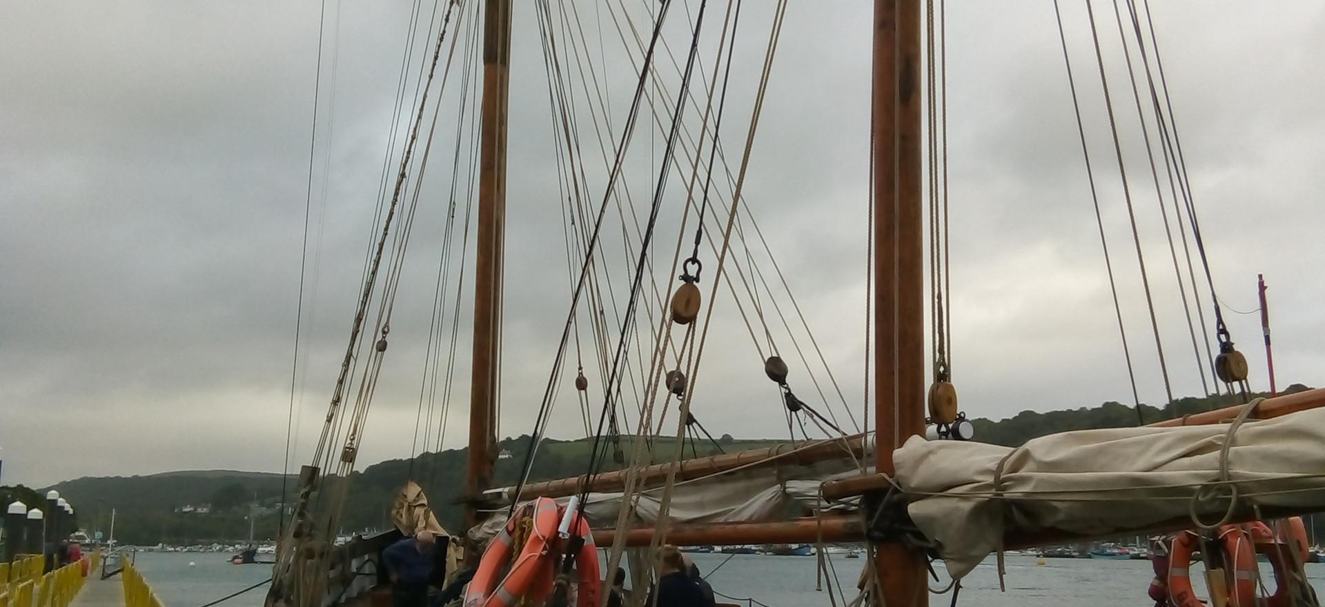Ship at peir
