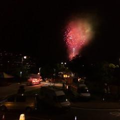 Fireworks for Regatta