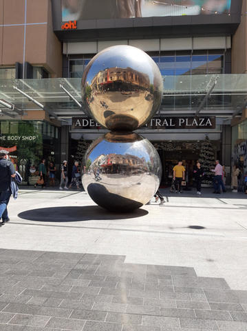 The Balls In Rundle Mall
