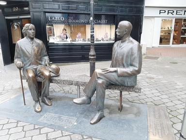 Oscar Wilde and Eduard Wilde