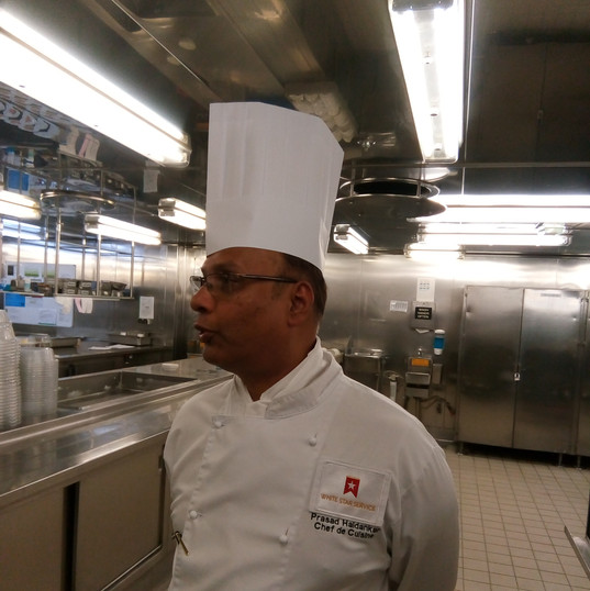 A chef - one of many