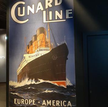 The Cunard Line took many to America