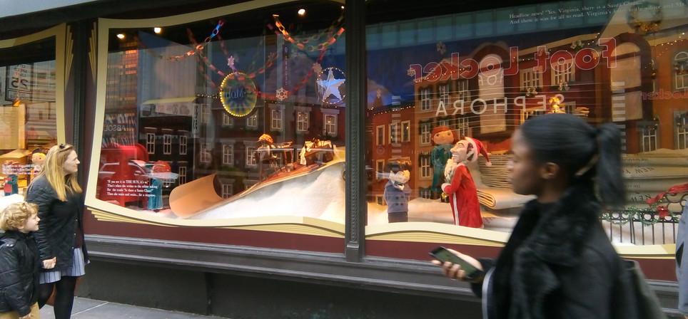 Macy's Christmas windows