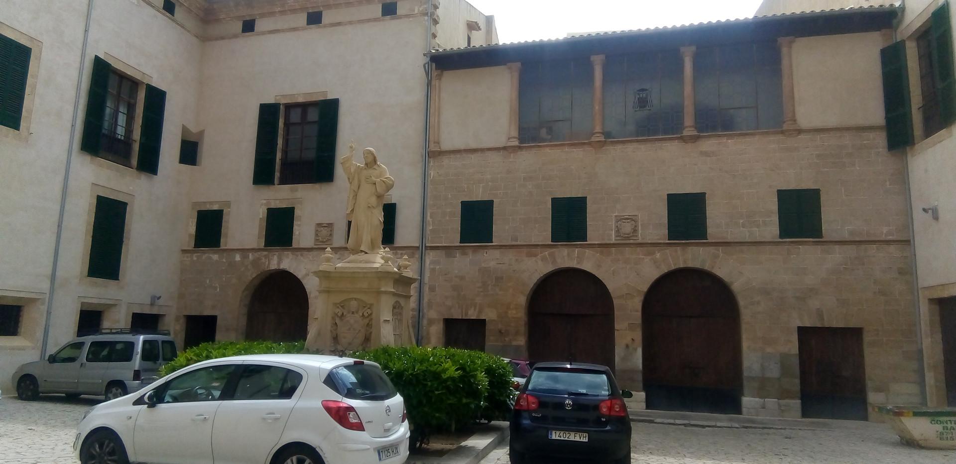 Courtyard to Church