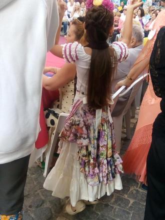 Even the children were dressed