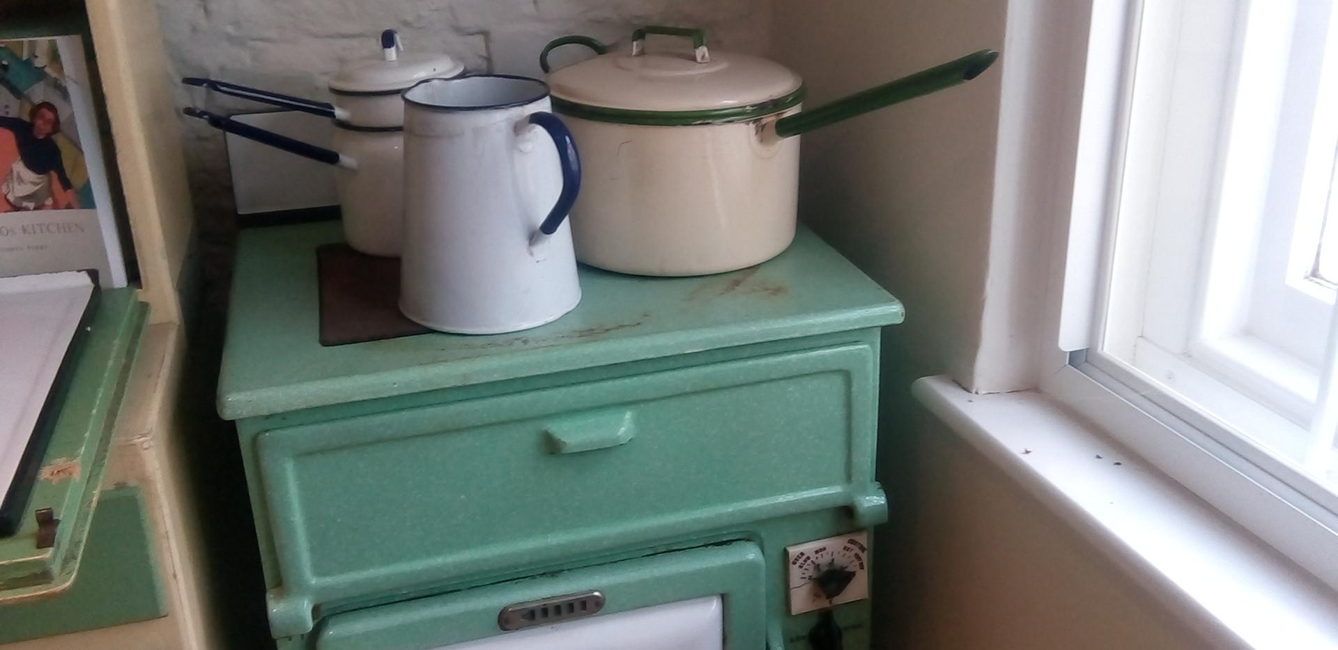 Old Kitchen set up