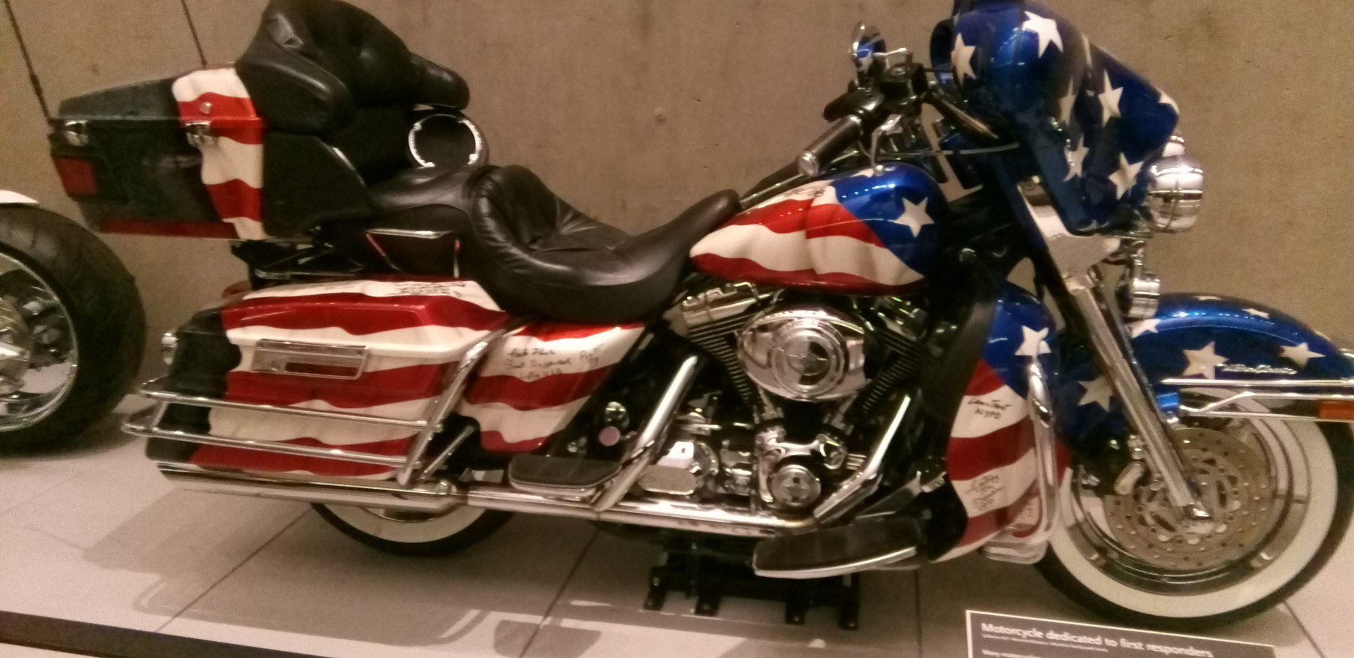 First responders can by Motercycle.
