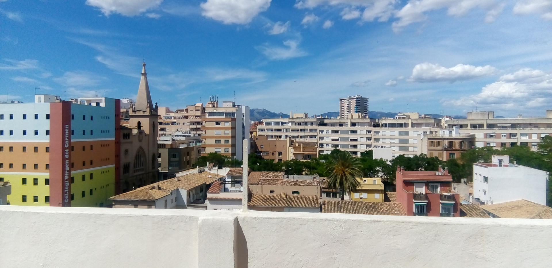 View from our Apartment
