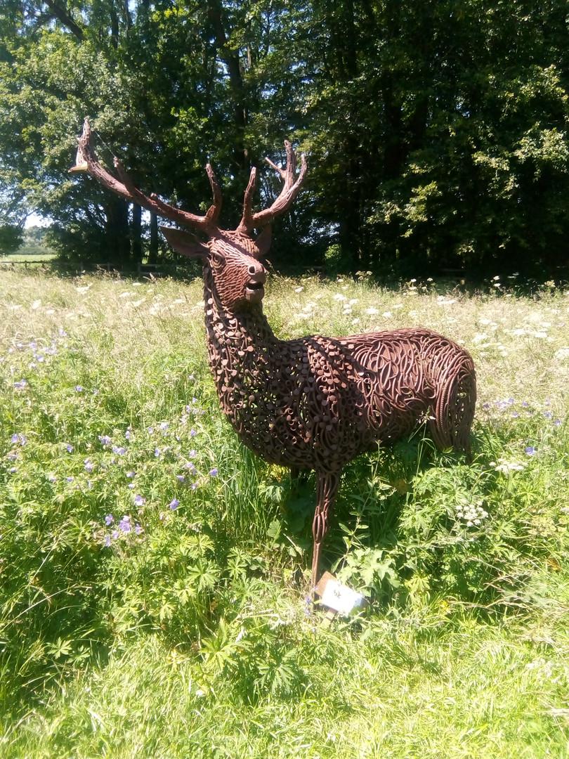 Metal Deer