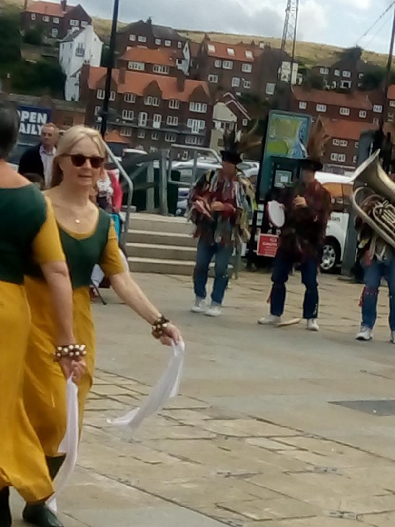 Traditional Morris Dancers