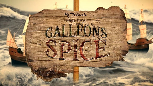 Galleons of Spice DVD