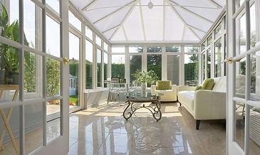All Seasons Room - Sunroom addition by A D Hogg Builder Inc.