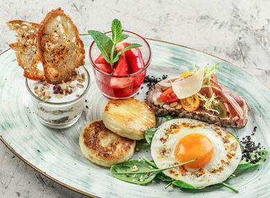 Фотография завтраков