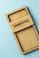 Деревянная коробочка для счёта