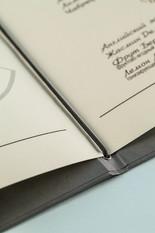 Ламинированный лист меню