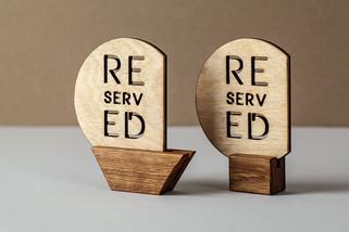 Таблички Резерв для рестораноа