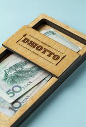Деревянная шкатулка счёт