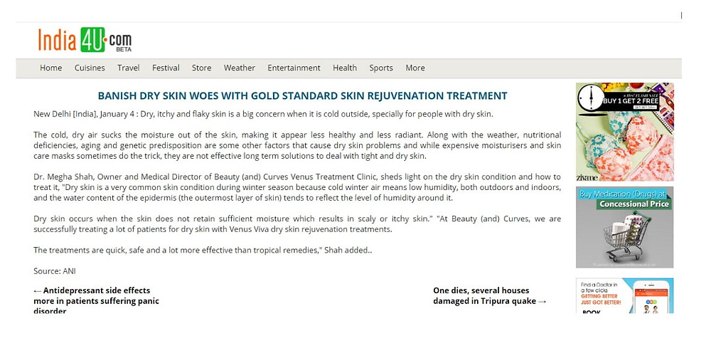 Banish Dry Skin Woes With Gold Standard Skin Rejuvenation Treatment