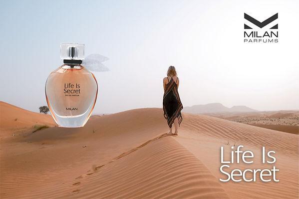 Milan Parfums Life Is Secret