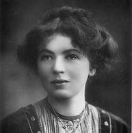 Leading Suffragette campaigner Christabel Pankhurst