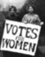 Votes For Women Christabel Pankhurst