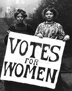 Votes For Women Christabel Pankhurst
